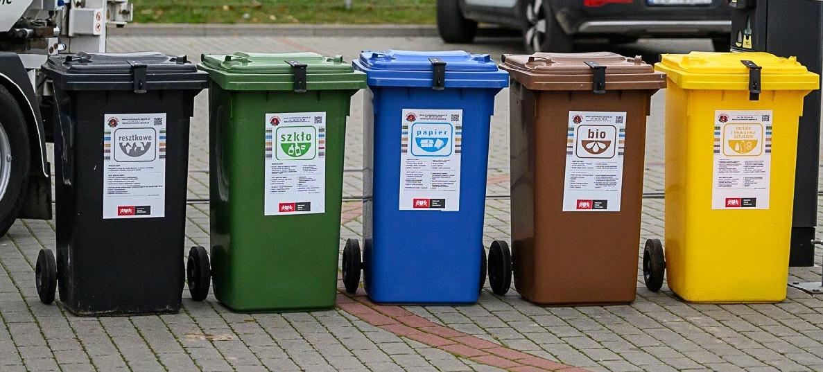 Nowy cennik dzierżawy pojemników dla firm na odpady segregowane obowiązujący od 01.02.2020