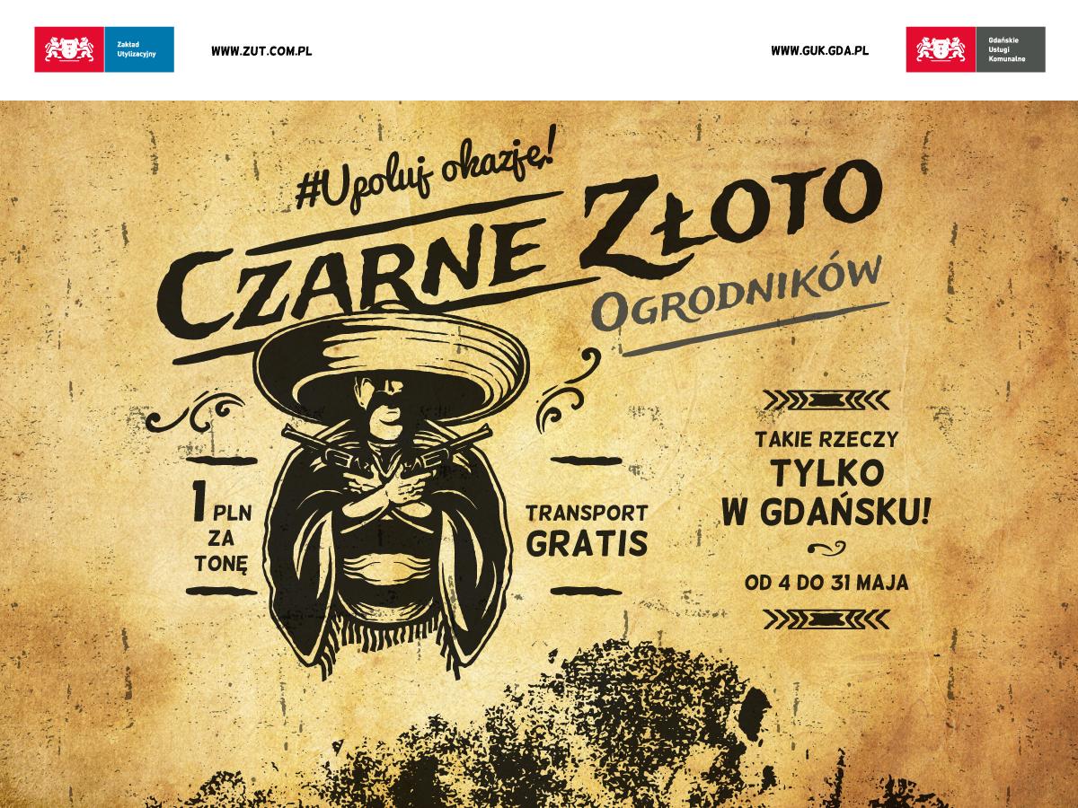Czarne złoto ogrodników - kompost za 1 zł z transportem gratis!