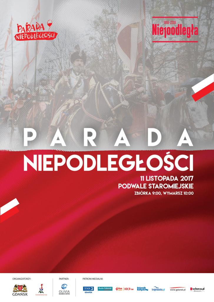 Odwiedź nas na Gdańskiej Paradzie Niepodległości!
