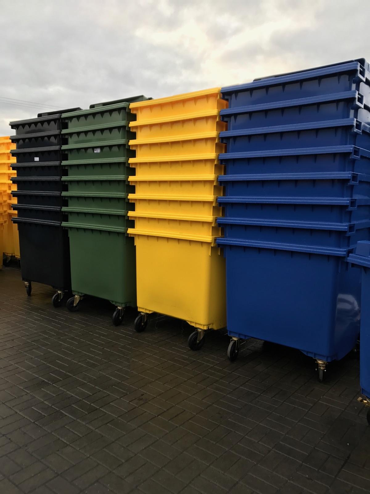 Zamów nowe pojemniki do segragacji odpadów