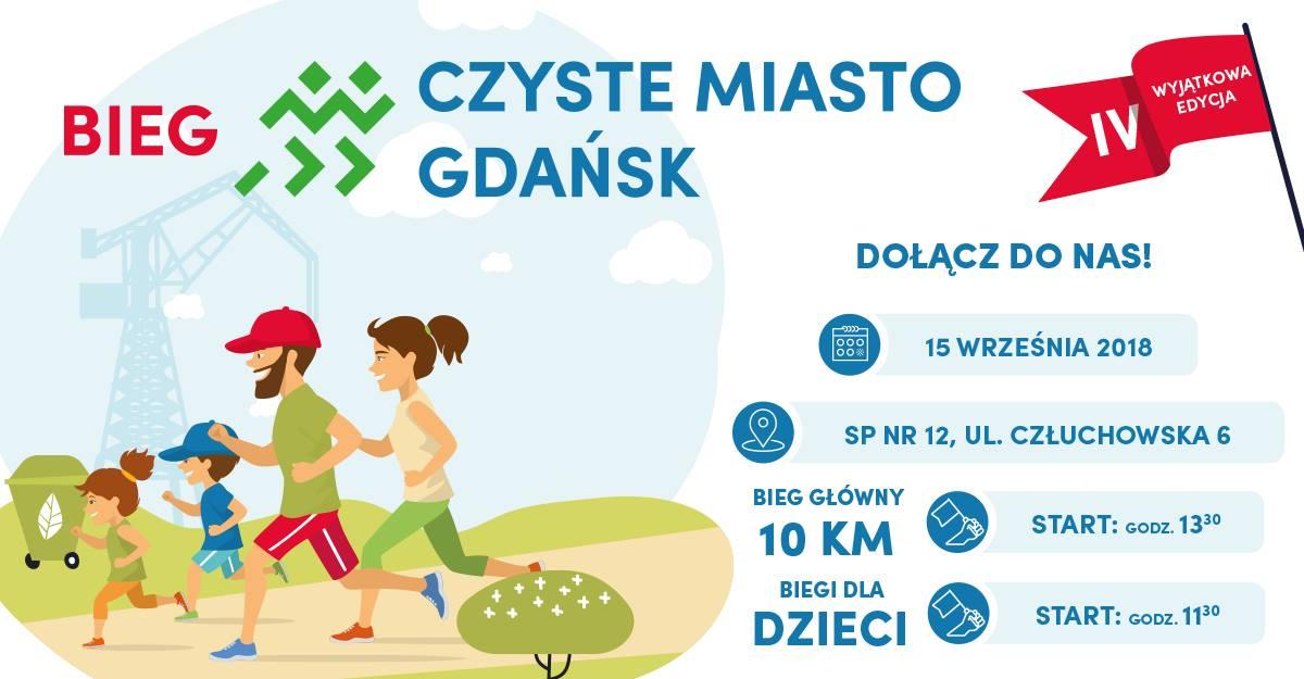 Rodzinny Bieg Czyste Miasto Gdańsk
